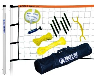 Player Volleyball sett - PVC stenger