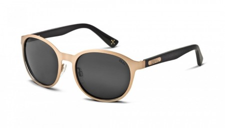 Solbrille Zeal Optics 6th Street (Rose Gold/Dark Grey)