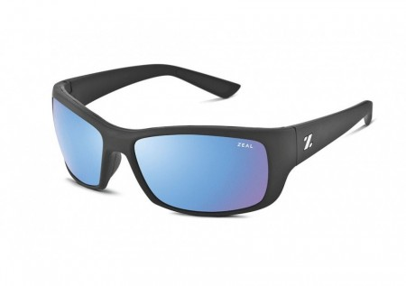 Solbrille Zeal Optics Tracker (Tactical Black/Bluebird HT Mirror)