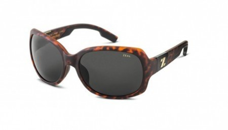 Solbrille Zeal Optics Penny Lane Solbrille (Matte Demi Tortoise/Dark Grey)