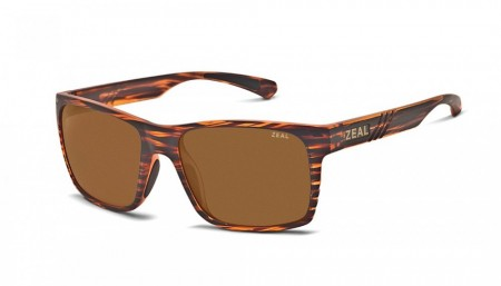 Solbrille Zeal Optics Brewer (Colorado Tortoise/Copper)