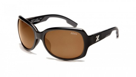 Solbrille Zeal Optics Penny Lane (Black Gloss/Copper)